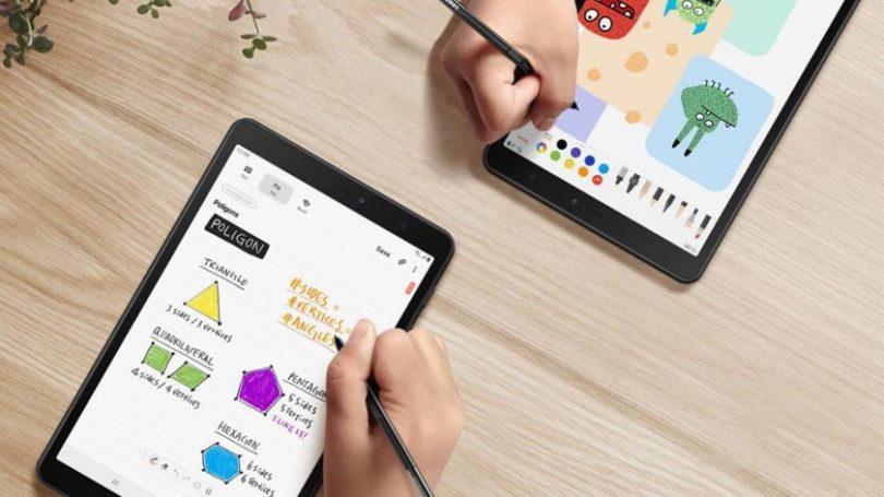 Samsung представила Galaxy Tab A8.0 (2019) состилусом S Pen