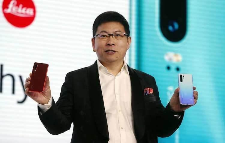 Huawei представила флагманские смартфоны P30 и P30 Pro с 50-кратным зумом