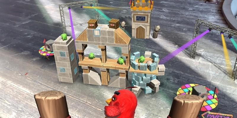 Angry Birds AR: Isle of Pigs с дополненной реальностью выходит на iOS