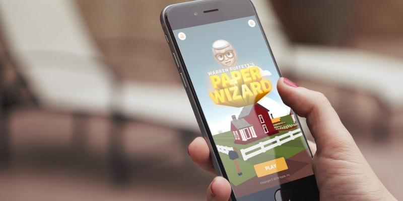 Apple представила бесплатную игрупро хобби Уоррена Баффета