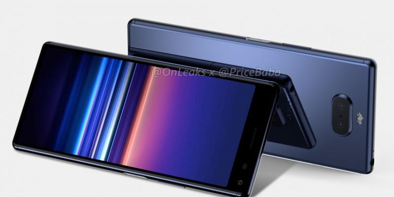 Флагман Sony Xperia 20 появился на рендерах + характеристики