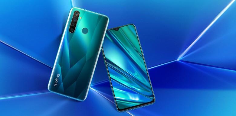 Представлены бюджетные смартфоны Realme 5 и Realme 5 Pro