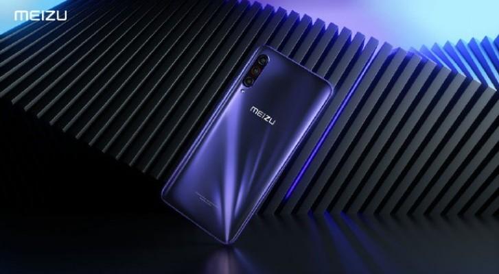Meizu 16T на официальном фото. Презентация смартфона состоится 23 октября