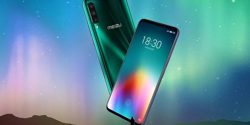 Представлен Meizu 16T на Snapdragon 855 и со сканером отпечатков в экране