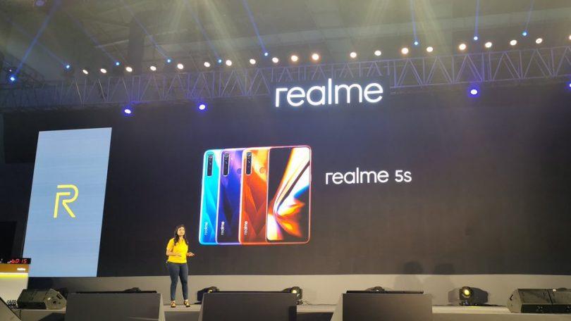 Представлен смартфон Realme 5s— главный конкурент Redmi Note 8