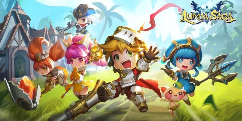 Мультяшная MMORPG Lumia Saga вышла на мобильных