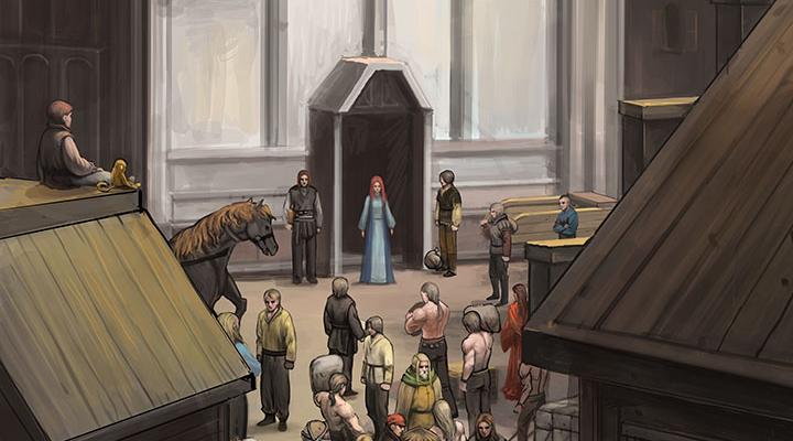 Стратегическая RPG Knights of Ages вышла в раннем доступе на Android