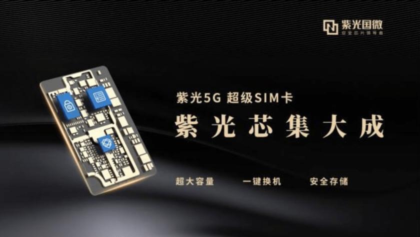 В Китае появились сим-карты со встроенной памятью 128 ГБ
