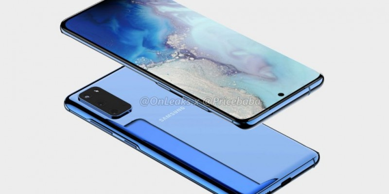 "Samsung Galaxy S20+ 5G на первых ""живых"" фото"