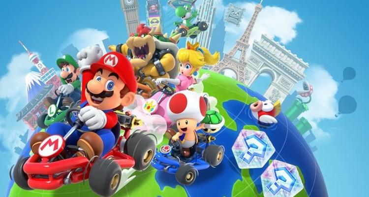 Анонсирован  открытый бета-тест Mario Kart Tour
