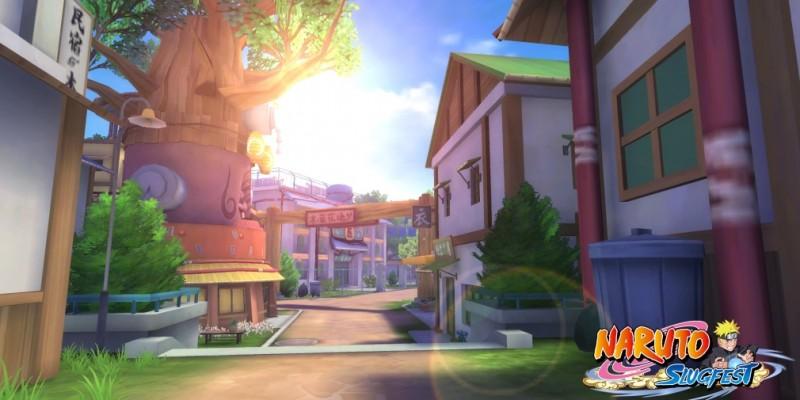 Создатели MMORPG Naruto: Slugfest представили новый трейлер с обзором локаций игры