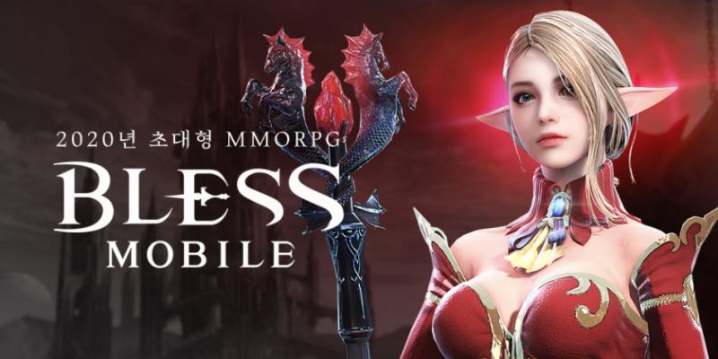 Разработчики MMORPGBless Mobile представили первые геймплейные ролики