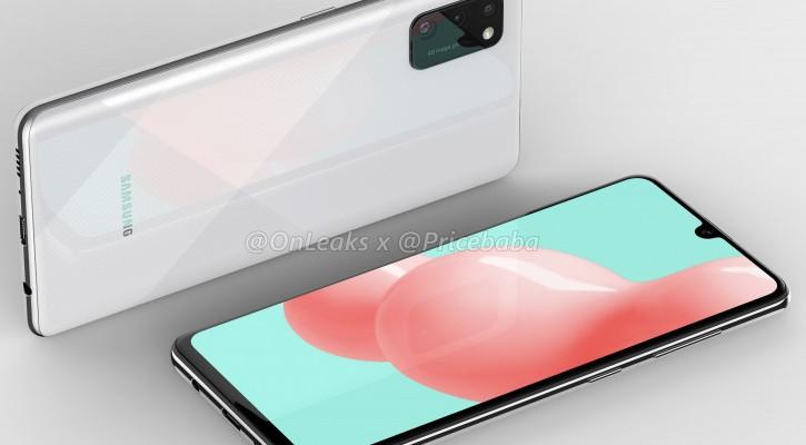 Компактный смартфон Samsung Galaxy A41 появился на официальных рендерах