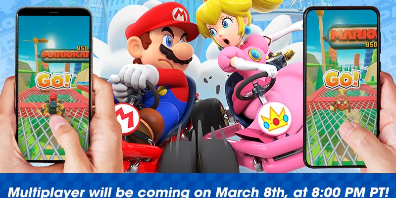 Nintendo 8 марта сделает бесплатным мультиплеер в Mario Kart Tour