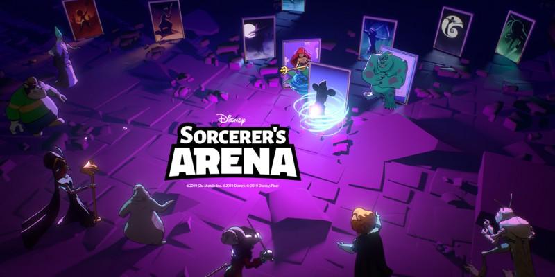 ВышлаDisney Sorcerer's Arena с узнаваемыми героями из диснеевских мультфильмов
