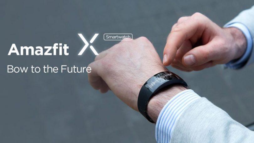 Huami Amazfit X – футуристичные умные часы от суббренда Xiaomi