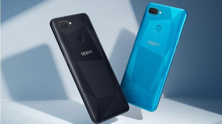Oppo представила доступный смартфон A12 с процессором Helio P35