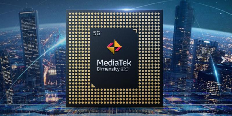 MediaTek представила однокристальная система Dimensity 820 с поддержкой 5G